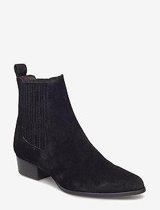 Booties 6892 - BLACK SUEDE 50