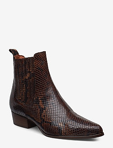 Booties 6892 - BROWN 1029 SNAKE R