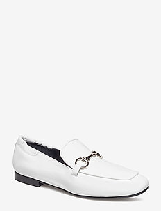 SHOES - loafers - white patent/silver 220