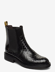 BOOTS - chelsea boots - bl.polo ten/gold stripe 322