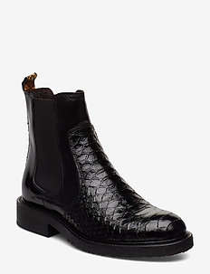 BOOTS - chelsea boots - bl.polo ten./curry snake 315 t