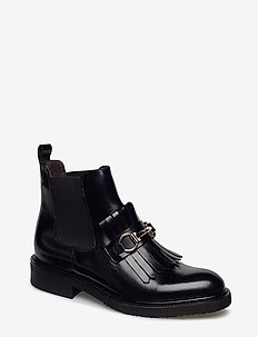 Boots 7426 - BLACK POLIDO/GOLD 302