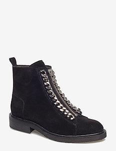 Boots 7428 - BLACK SUE./SILVER 503