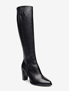 Long Boots 7793 - langskaftede - black calf 80
