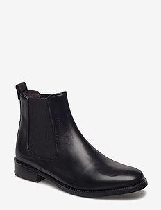 Boots 7913 - BLACK CALF 80 P