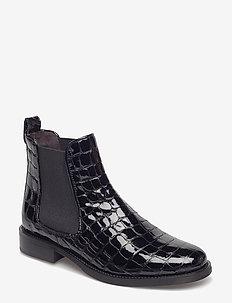 Boots 7913 - BLACK CROCO PATENT R