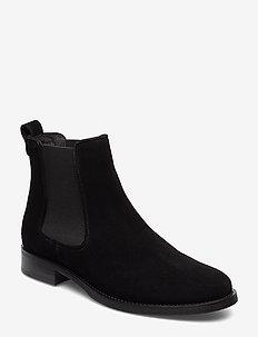 Boots 7913 - bottes chelsea - black suede 50 p