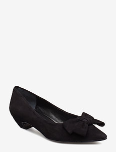 SHOES 8029 - BLACK SUEDE 50