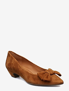 SHOES 8029 - COGNAC SUEDE 56