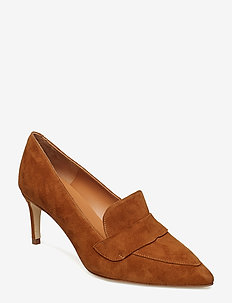 PUMPS 8057 - COGNAC SUEDE 56