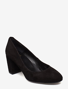 PUMPS 8072 - BLACK SUEDE 50
