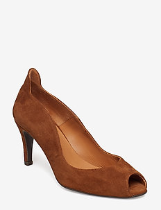 PUMPS 8080 - COGNAC 637 SUEDE 56
