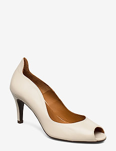 Pumps 8080 - escarpins à bout ouvert - off white nappa 73