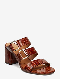 SANDALS 8110 - BRANDY MONTERREY CROCO 46 P