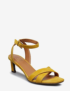 SANDALS 8142 - YELLOW 1795 SUEDE 55