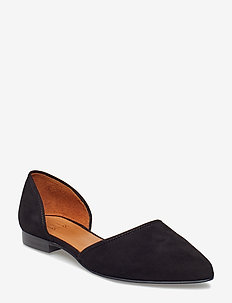 Shoes 8660 - baleriny - black suede 50