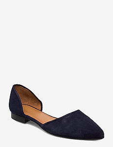 Shoes 8660 - ballerinas - blue abyss suede 511
