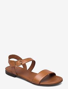 Sandals 8714 - flate sandaler - cuoio guanto calf  84