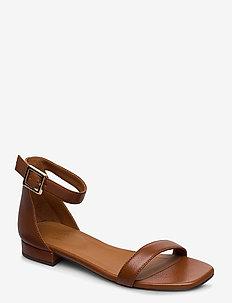SANDALS 8715 - flade sandaler - cognac 5144 buffalo 855