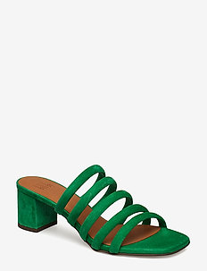SANDALS 8723 - GREEN AMAZON SUEDE 54