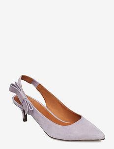 SANDALS 8760 - sling backs - lavender marsiglia suede 581