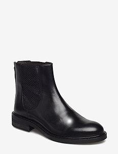 BOOTS - bottes chelsea - black calf 80