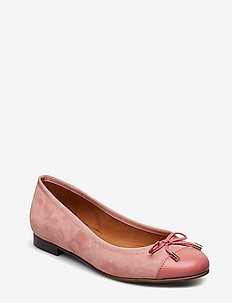 SHOES 8810 - PINK SIENA NAPPA/SUEDE 758