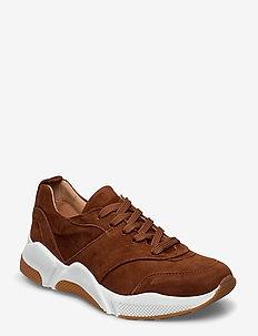 Sport 8840 - chunky sneakers - cognac 1519 suede 554
