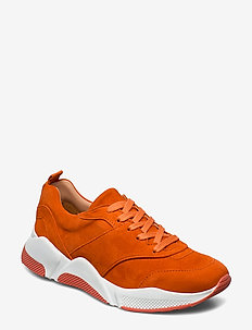 Sport 8840 - chunky sneakers - orange tiger suede 577