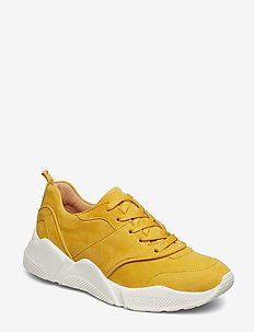 Sport 8840 - chunky sneakers - yellow 1795 suede 55