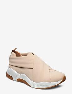 Sport 8842 - slip-on sneakers - beige lycra 912