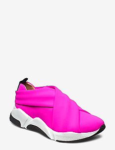 Sport 8842 - slip-on sneakers - neon pink lycra 999