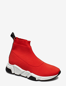 SHOES - chunky sneakers - red elastic/bl.nappa 999