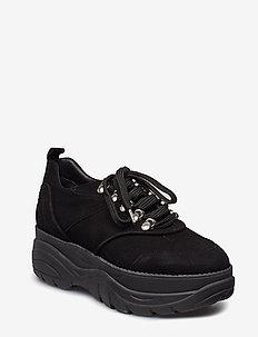 Sport 8860 - chunky sneakers - black suede 500/black sole 500