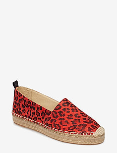 SHOES - RED LEOPARDO SUEDE 571