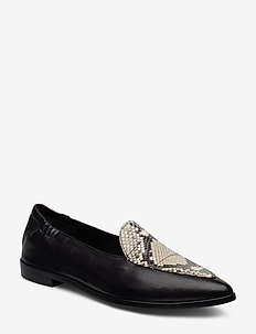 Shoes 91512 - BLACK NAPPA/OFF WH.SNAKE 733