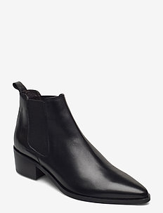 Booties 93700 - chelsea boots - black calf 80
