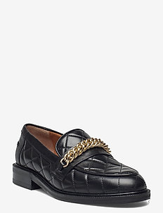 Shoes A1217 - loafers - black calf 80