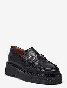 Shoes A1236 - loafers - black buffalo 800