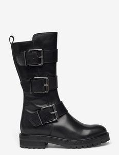 Boots - höga stövlar - black calf 80