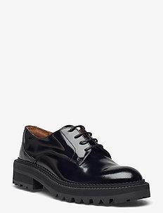 Shoes A1496 - snörskor - black polido  900