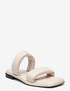 Sandals A1700 - flache sandalen - off white nappa 73