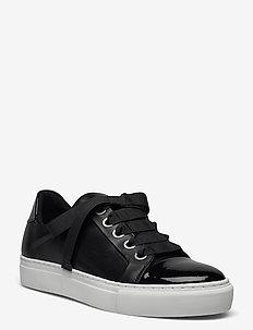 Sport A4825 - sneakers med lav ankel - black patent/calf/silver 283