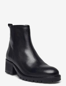 Boots A83731 - ankelstøvler med hæl - black calf 80