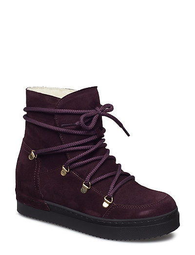 BOOTS - PRUGNA SUEDE/BL.SOLE  588