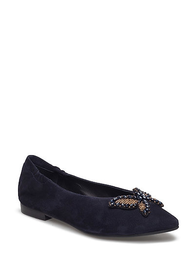 SHOES - NAVY SUEDE 51