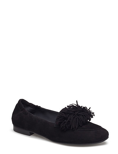 SHOES - BLACK SUEDE 50