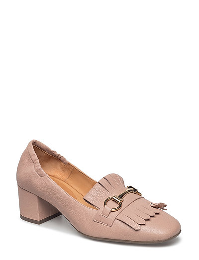 PUMPS - NUDE BUFFALO/GOLD 882