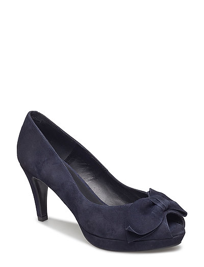 PUMPS - NAVY SUEDE 51