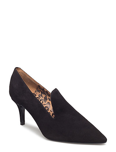 PUMPS - BLACK SUEDE 50 P